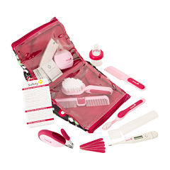Safety 1st® Deluxe Healthcare & Grooming Kit - Raspberry