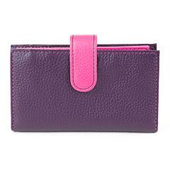Mundi® Rio Leather Double Card Case