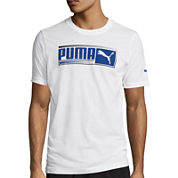 Puma® Sueded Short-Sleeve Graphic Tee
