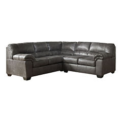 Signature Design by Ashley® Benton 2-Pc Left Arm Facing Sectional