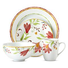 Oneida® Italian Cypress 16-pc. Floral Dinnerware Set