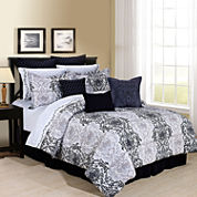 Cathay Home Aerylin Complete Bedding Set with Sheets
