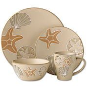 Pfaltzgraff® Everyday Sandy Shore 16-pc. Dinnerware Set