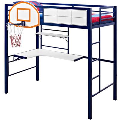 basketball twin loft bed - Teen Furniture