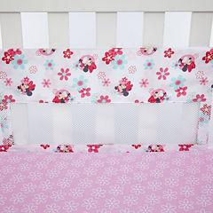 Disney Minnie's Garden Crib Bumper