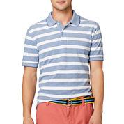 Arrow® Bar-Striped Oxford Piqué Polo