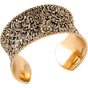 Art Smith by BARSE Scroll Cuff Bracelet
