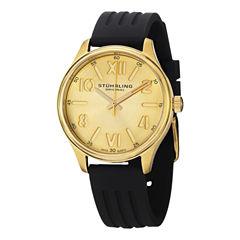 Stuhrling Womens Black Strap Watch-Sp14578