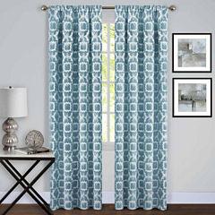 Tara Room Darkening Rod-Pocket Curtain Panel
