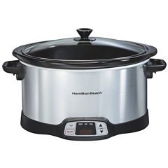 Hamilton Beach® 8 Qt Stainless Steel Slow Cooker