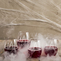 Cathy's Concepts Spooky 4-pc. Stemless Wine Glass