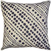Idea Nuova Republic Blue Dot Decorative Pillow