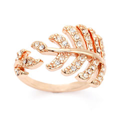 Sparkle Allure Yellow Crystal Cluster Ring