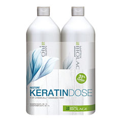 Matrix Biolage Keratin Dose Value Set - 67.6 oz.