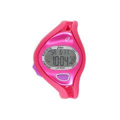 Asics Ar05 Runner Womens Pink Strap Watch-Cqar0504y