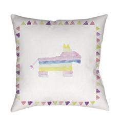 Decor 140 Cartonería Square Throw Pillow