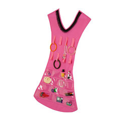 Honey-Can-Do® Pink Dress Jewelry Organizer