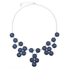 Monet® 1820 Drama Silver Necklace