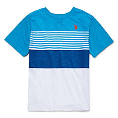 U.S. Polo Assn. Short Sleeve T-Shirt-Big Kid Boys