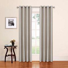 Eclipse Bryson Grommet-Top Curtain Panel