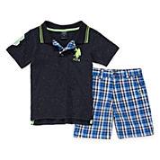 U.S. Polo Assn.® 2-pc. Polo and Shorts Set - Toddler Boys 2t-5t