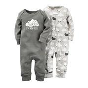 Carter's® 2-pk. Coveralls - Babies newborn-9m