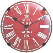 FirsTime® Keep Time Wall Clock