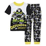 Disney Collection 2-pc. Toy Story Short-Sleeve Pajama Set