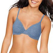 Hanes® Heathered Underwire Soft T-Shirt Bra - HU02