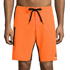Reebok Solid E Waist Board Shorts