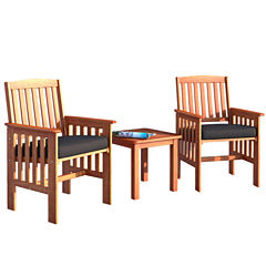 Miramar 3-Pc Chair and Side Table Set