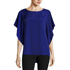 Worthington Short Sleeve Scoop Neck T-Shirt