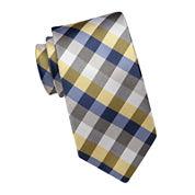 Stafford® Plaid Silk Tie - Extra Long