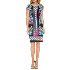 Liz Claiborne Short Sleeve Shift Dress