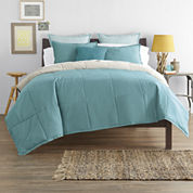 JCPenney Home™ Cotton Classics Solid Reversible Comforter & Accessories