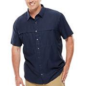 Van Heusen® Short-Sleeve Traveler Shirt - Big & Tall