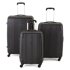 Protocol® Secure Hardside Spinner Upright Luggage Collection with TSA Locks