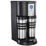 Hamilton Beach® Stay or Go® Custom Pair™ Coffee Maker