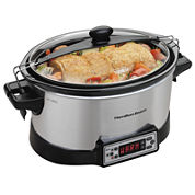 Hamilton Beach® Programmable Right Size™ Multi-Quart Slow Cooker