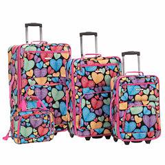 Rockland Expandable 4-pc. Luggage Set
