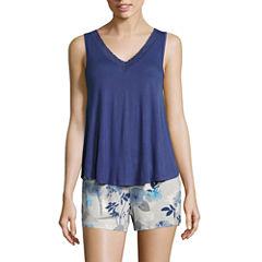 Ambrielle Sleeveless Pajama Top
