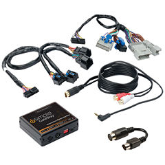 iSimple ISGM12 SiriusXM GateWay Kit for SXV-100/200 Tuner (for Select GM Vehicles)