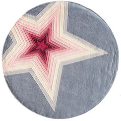 Momeni® Lil Mo Superstar Round Rug