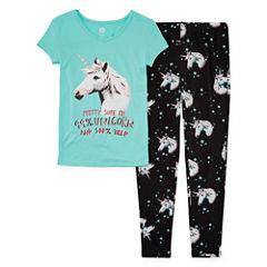 Total Girl 2-pc. Pajama Set Girls