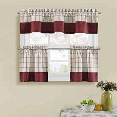 Bistro Check Kitchen Curtains