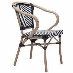 Zuo Modern Paris 2-pc. Patio Dining Chair