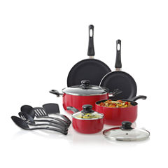 Cooks 13-pc. Essential Aluminum Nonstick Cookware Set
