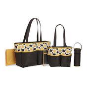 Carter's® 5-pc. Daisy-Print Diaper Bag Set