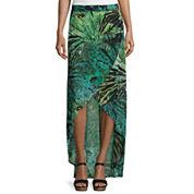 a.n.a® Woven Cross-Front Maxi Skirt