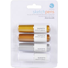 Silhouette 4-pk. Metallic Sketch Pens